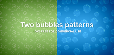 Two bubbles patterns