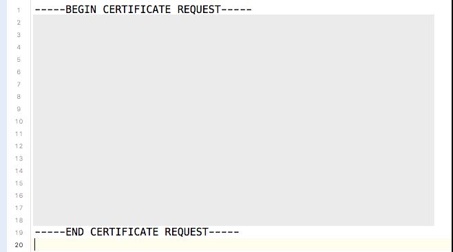 CSR ファイル